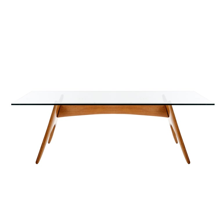 California Craft Dining Table in the Style of Sam Maloof