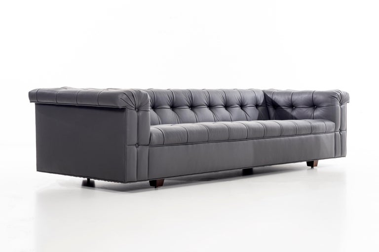 American Dunbar Chesterfield Sofa For Sale