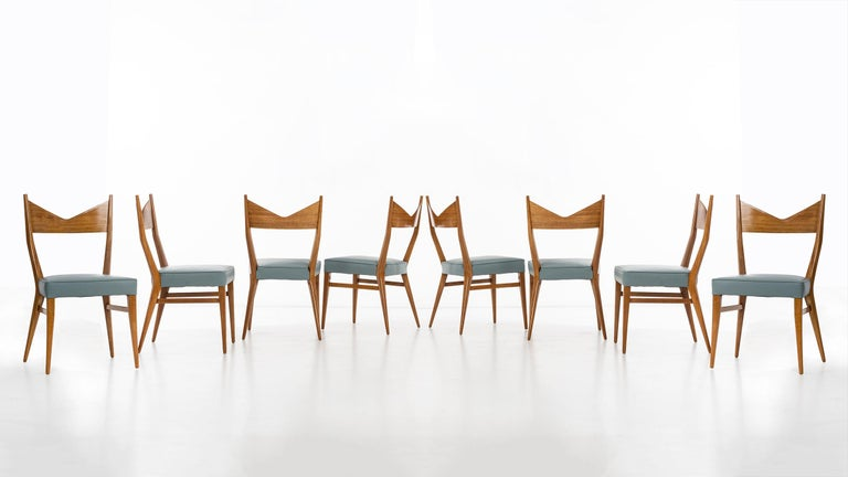 Mid-Century Modern Paul McCobb Dining Chairs Set of Ten For Sale