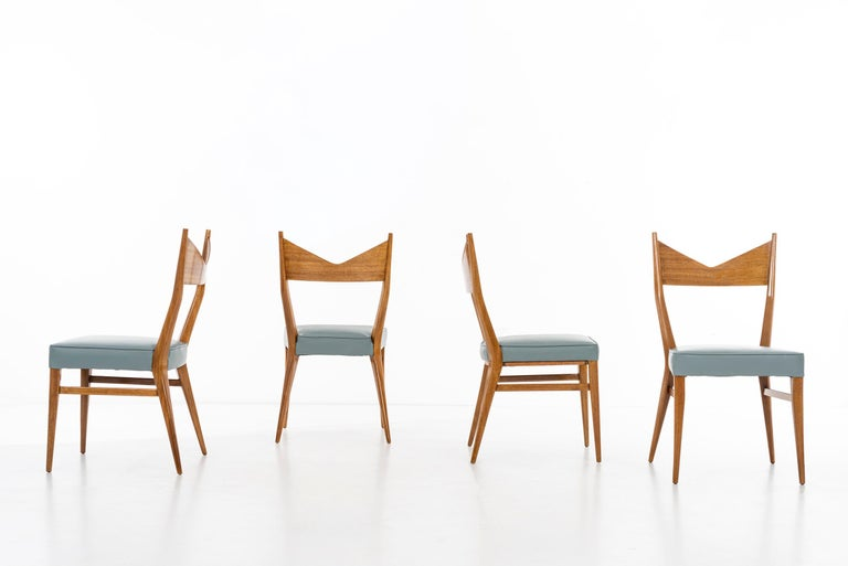 Paul McCobb Dining Chairs Set of Ten In Excellent Condition For Sale In Chicago, IL