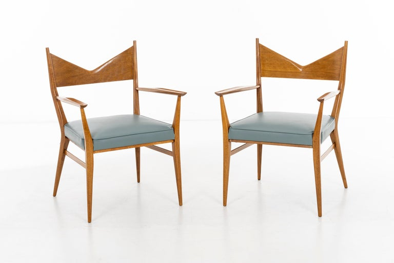 Paul McCobb Dining Chairs Set of Ten For Sale 5