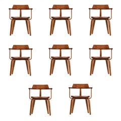 Walter Gropius Set of Ten-Armchairs
