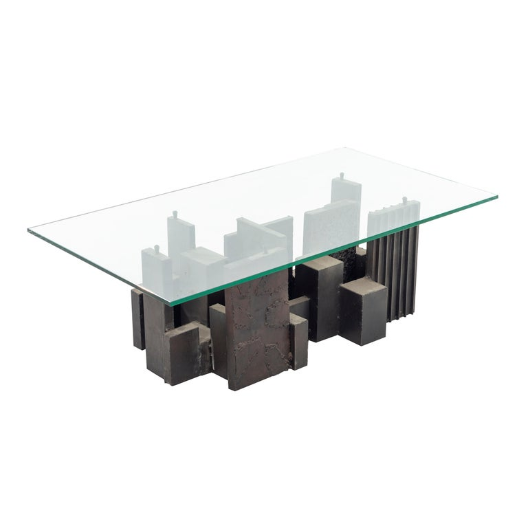 Paul Evans Brutalist Coffee Table