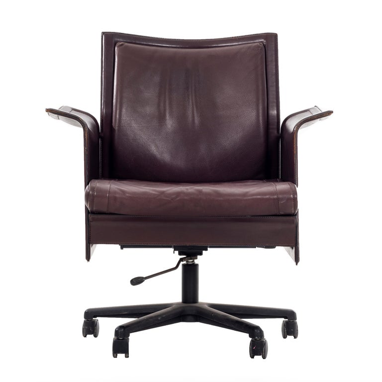Desk Chair by Tito Agnoli For Sale