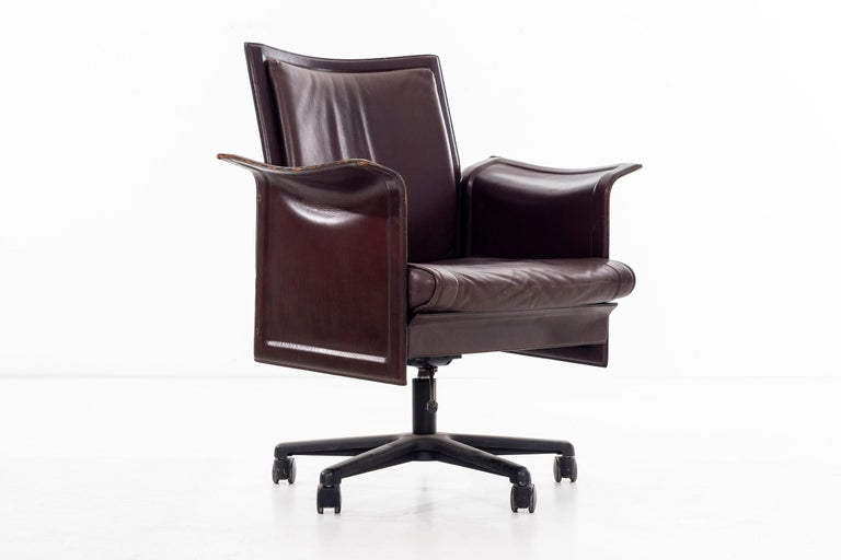 Mid-Century Modern Desk Chair by Tito Agnoli For Sale