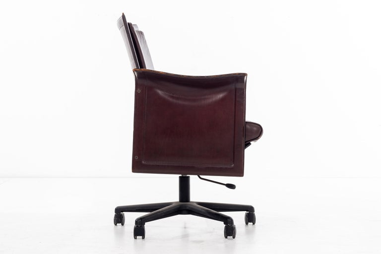 Italian Desk Chair by Tito Agnoli For Sale