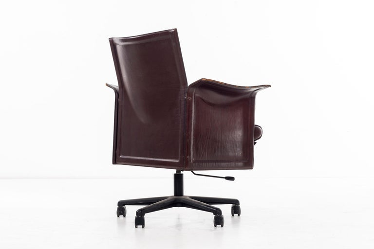 Desk Chair by Tito Agnoli In Good Condition For Sale In Chicago, IL