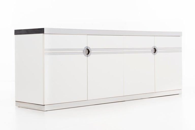 Laminated Pierre Cardin Dresser or Credenza For Sale