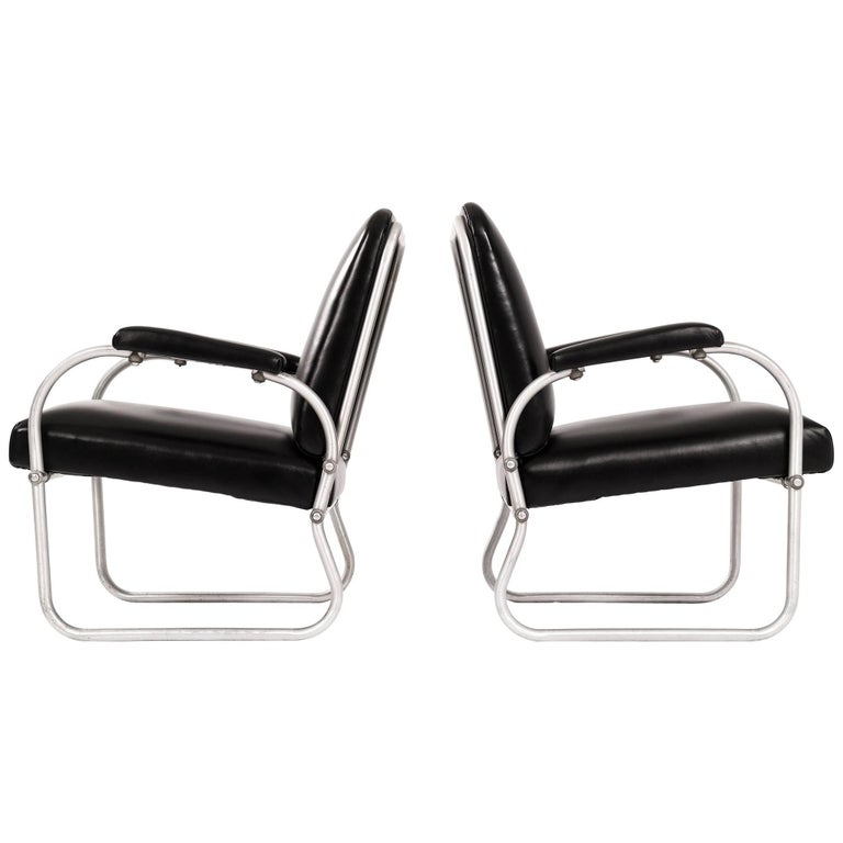 Pair of Warren McArthur for Namco Lounge Chairs For Sale