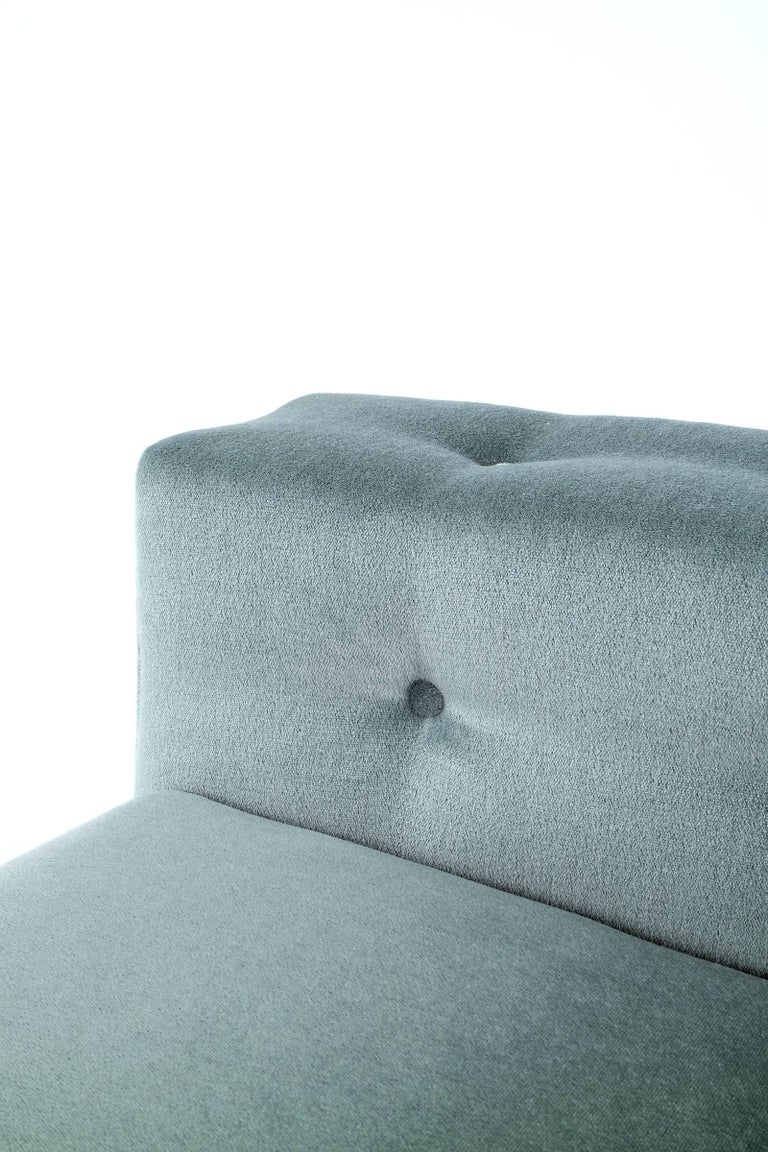 Pair of Milo Baughman Chesterfield Sofas In Excellent Condition For Sale In Chicago, IL