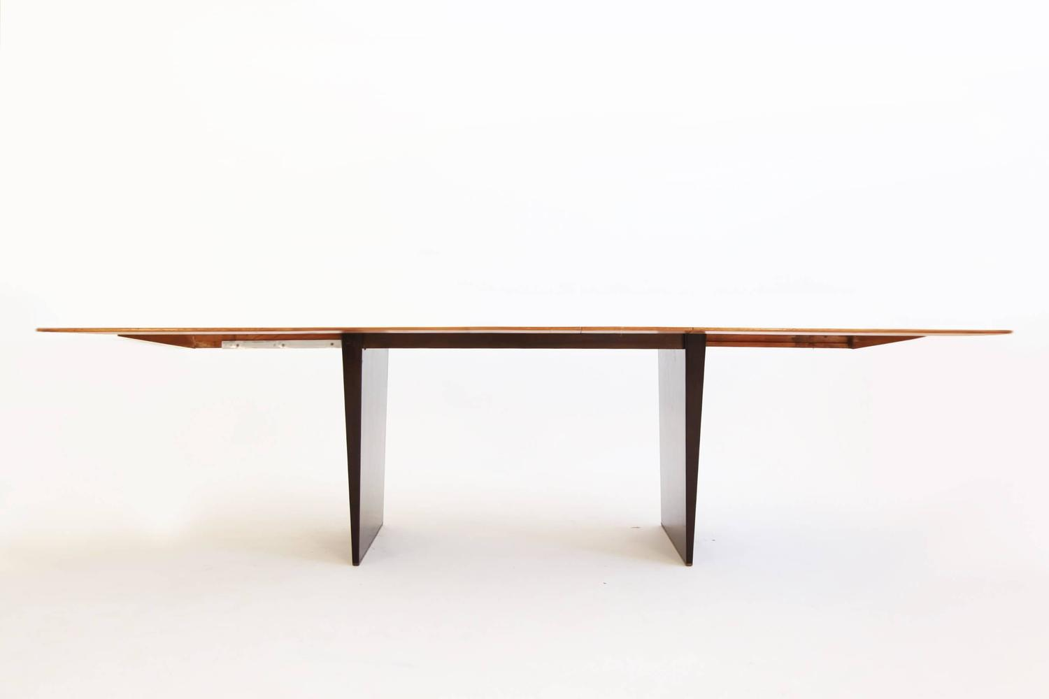 Edward wormley dining table at 1stdibs for 108 inch dining room table