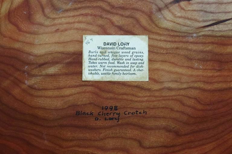 david lory monumental wooden bowl 3