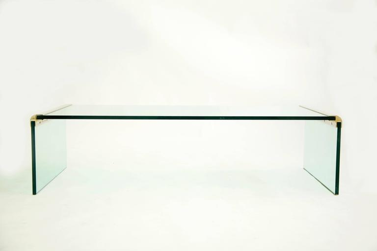 Waterfall cocktail table by Pace Collection.