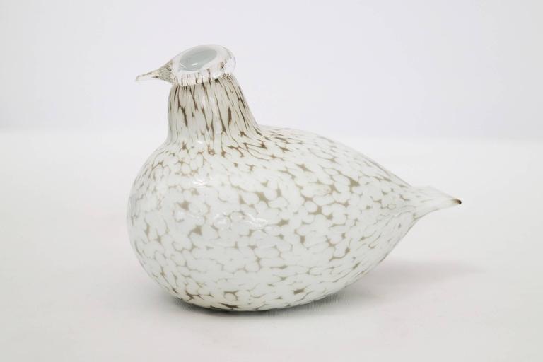 Mid-Century Modern Oiva Toikka Handblown Birds