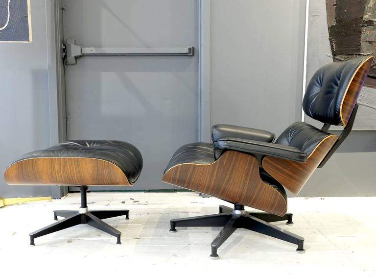 eames 670 lounge chair and ottoman for sale at 1stdibs