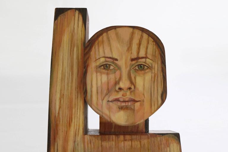 American Carol Quinn Sculpture For Sale