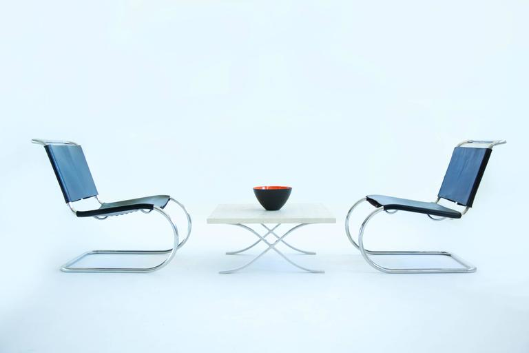 Mies van der Rohe Sling Lounge Chairs For Sale 1