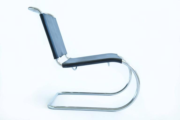 American Mies van der Rohe Sling Lounge Chairs For Sale