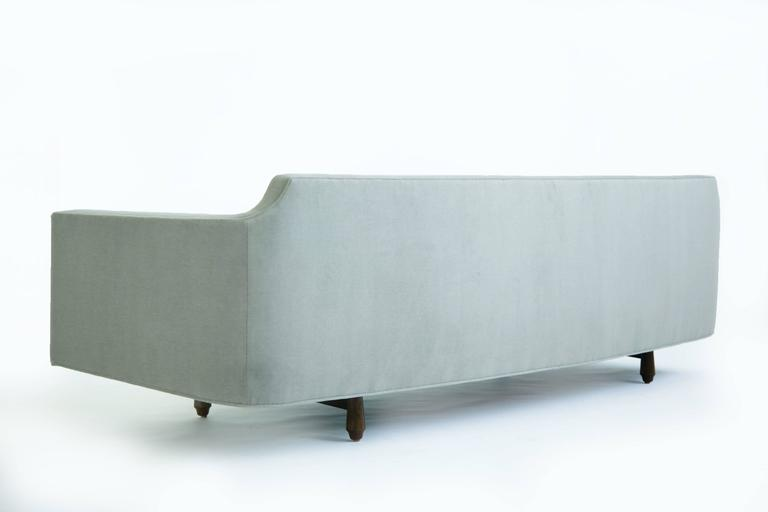 American Edward Wormley Curved Corner Sofa For Sale