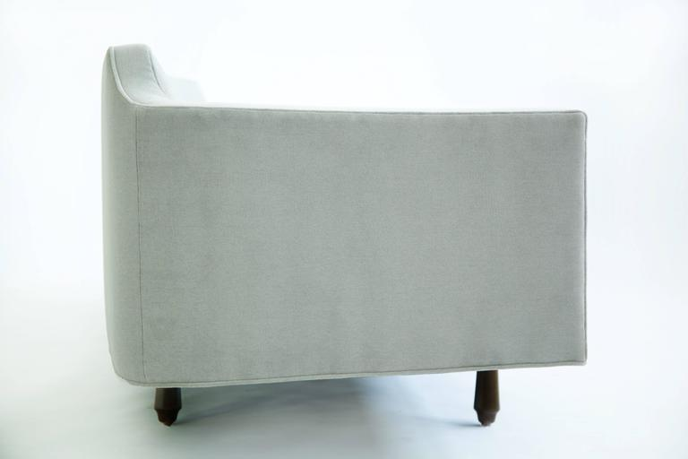 Mid-Century Modern Edward Wormley Curved Corner Sofa For Sale