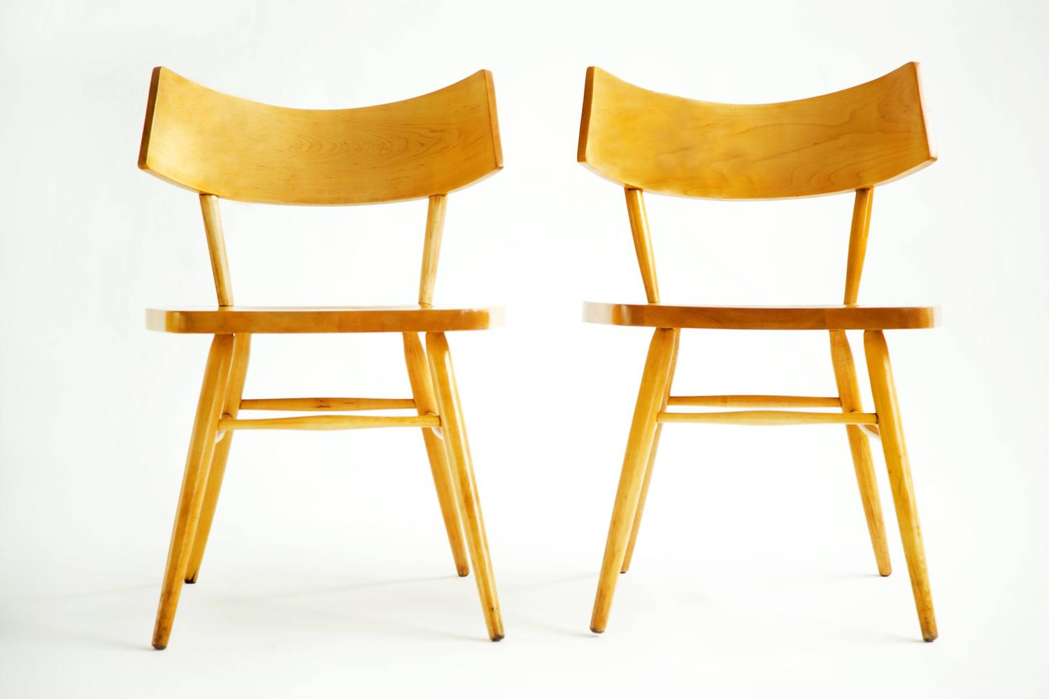 Occasional Chairs In The Style Of Paul McCobb For Sale At
