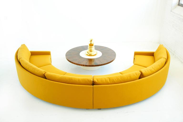Milo Baughman Semi-Circle Sectional Sofa 6