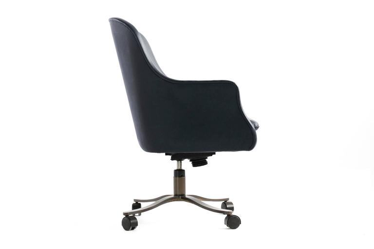 Mid Century Modern Nicos Zographos Bucket Chair For Sale