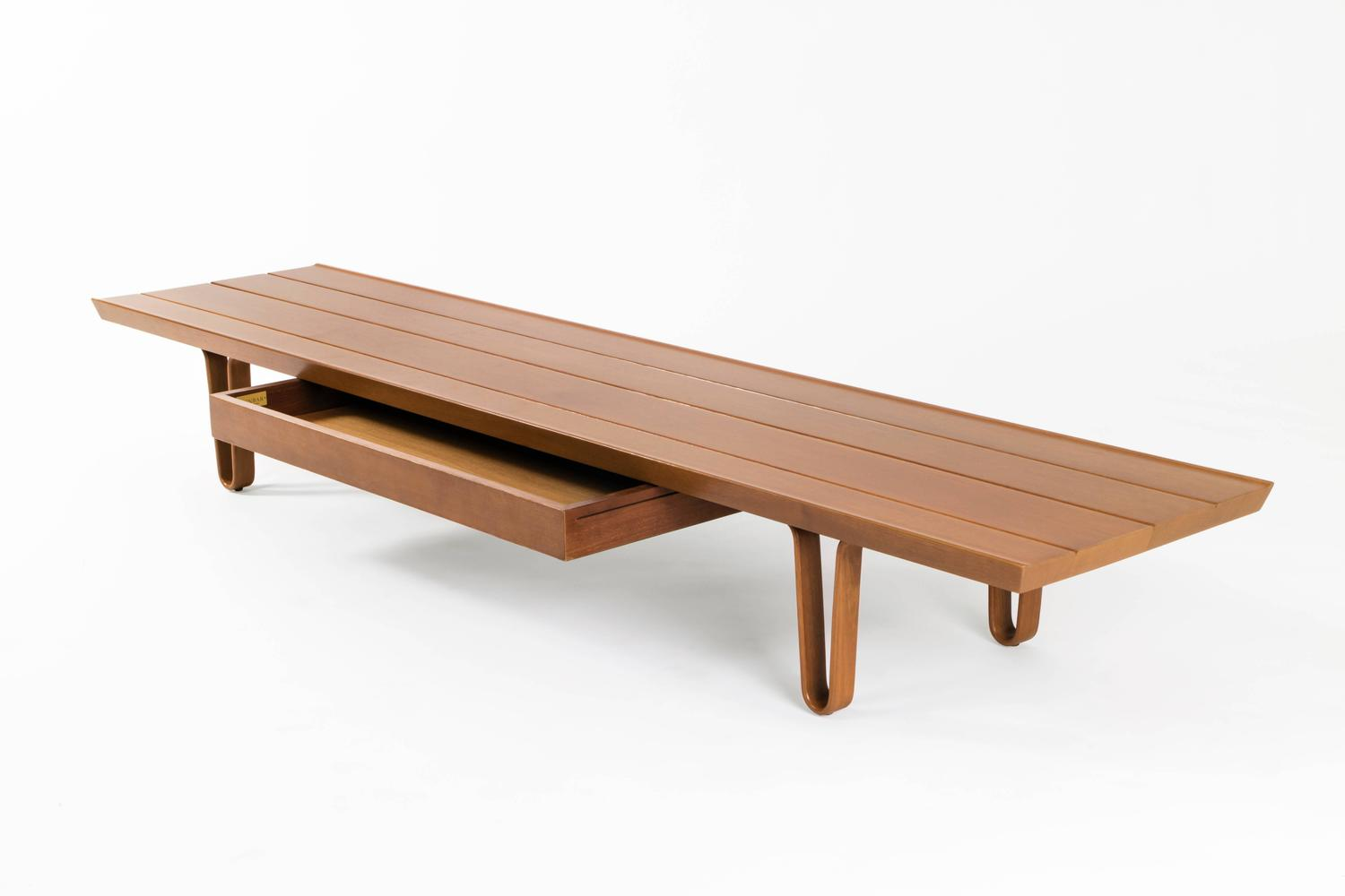 Edward Wormley Long John Coffee Table For Sale At 1stdibs