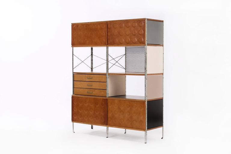 Lacquered Charles and Ray Eames ESU 400-N For Sale