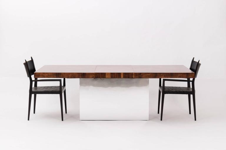 Milo Baughman Dining Table In Excellent Condition For Sale In Chicago, IL