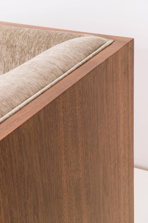 Late 20th Century Milo Baughman Rosewood Case Sofa For Sale