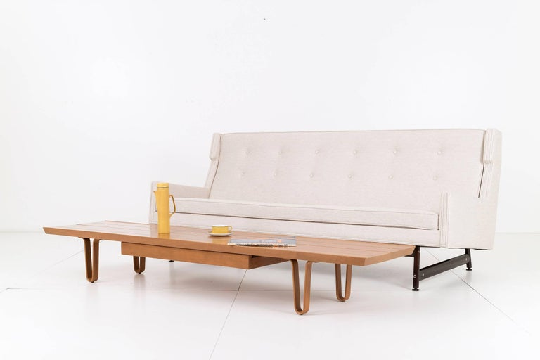 American Edward Wormley Long John Coffee Table for Dunbar For Sale