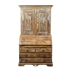 Swedish Heart of Pine Secretaire
