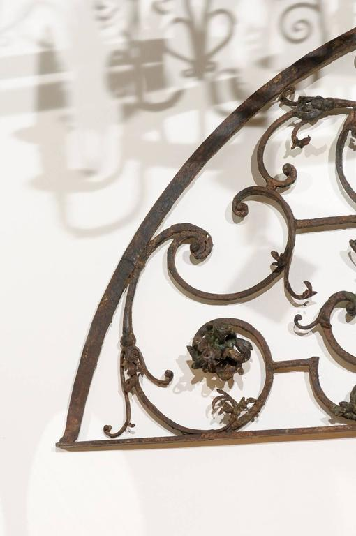 French Iron Arch At 1stdibs