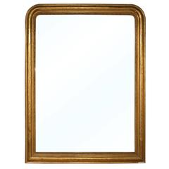 Large Louis Philippe Gilt Mirror