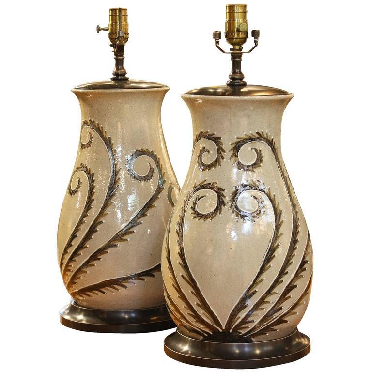 lamp on lamps best table images bramea ceramic pinterest pottery