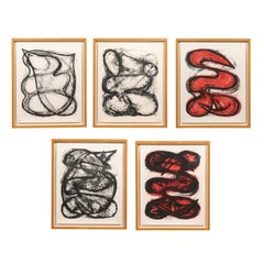 Series of Five Lithographs by Elizabeth Murray, Part of MoMA Collection
