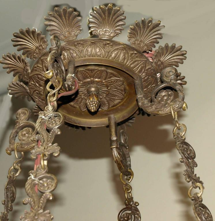 Antique Chandelier, Empire Style Chandelier For Sale 3