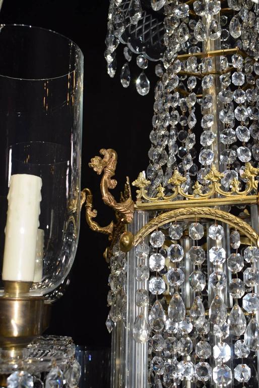 Antique Lighting Crystal Chandelier For Sale At 1stdibs