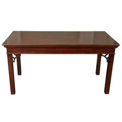 Chippendale Period Mahogany Serving Table