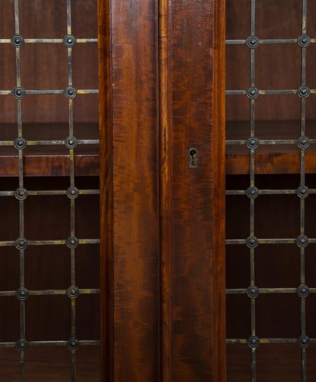 Mid-19th Century Fine Pair of William IV Mahogany Library Bookcases For Sale