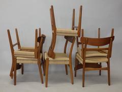 Set of Six Hans Wegner for Carl Hansen Restored Dining Chairs