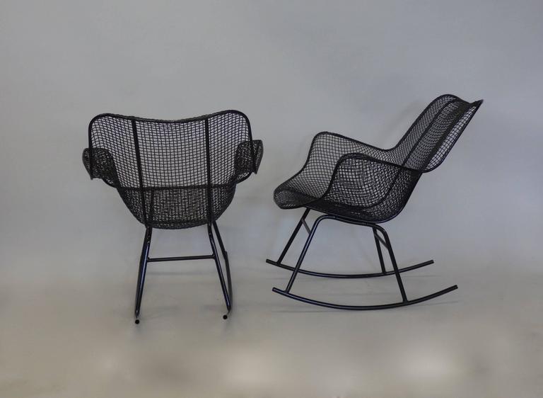 Pair of Freshly Restored Russell Lee Woodard Rocking Chairs 2