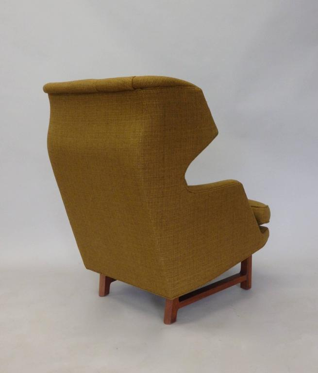 Edward Wormley for Dunbar Modernist Wingback Lounge Chair 2