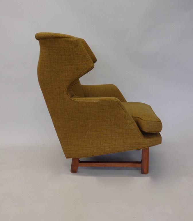 Edward Wormley for Dunbar Modernist Wingback Lounge Chair 5