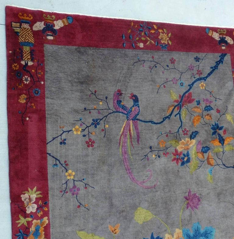 Nichols Chinese Art Deco Rug For Sale 1