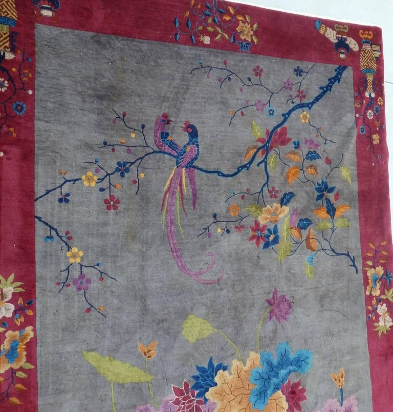Nichols Chinese Art Deco Rug For Sale 2