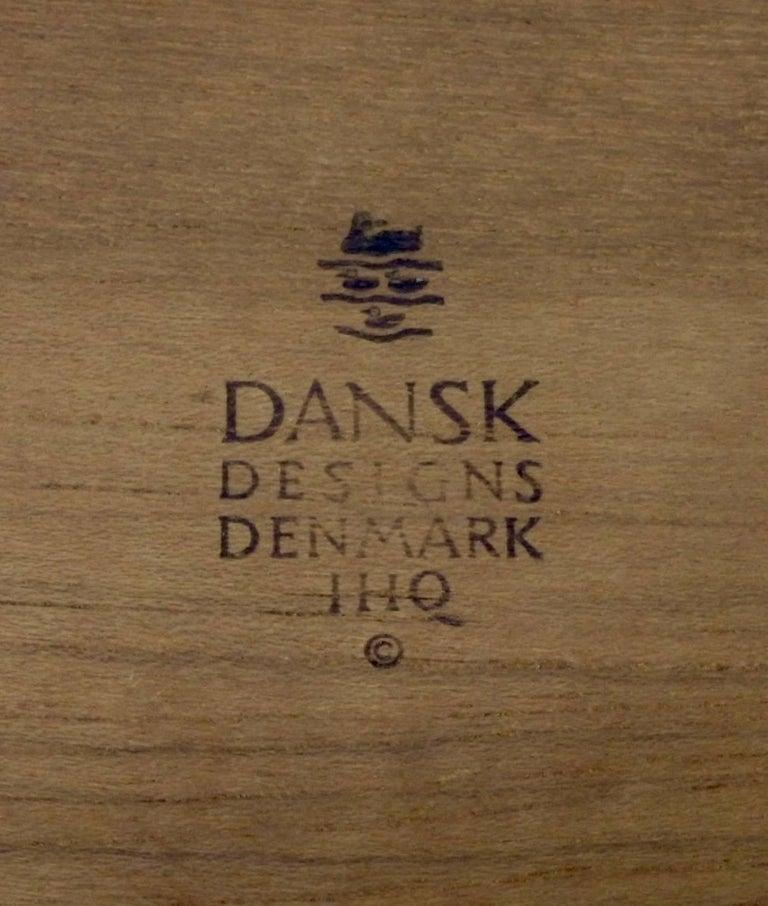 Mid-Century Modern Collection of Danish Dansk Teak Quistgaard Ice Buckets For Sale
