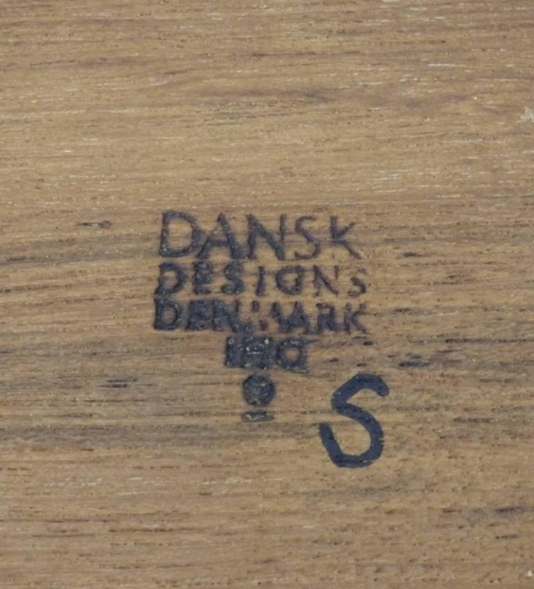 Hand-Crafted Collection of Danish Dansk Teak Quistgaard Ice Buckets For Sale