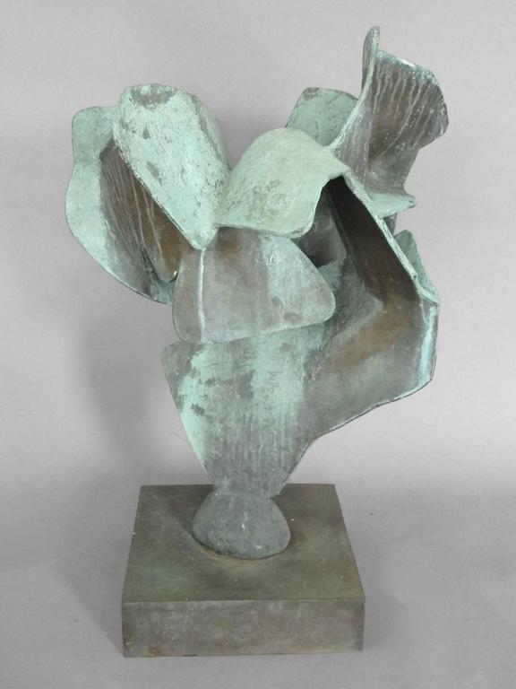 Organic Free-Form Abstract Bronze Sculpture 3